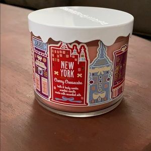 Bath & Body Works Accents - Bath and Body Works Cherry Cheesecake Candle